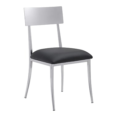 Zuo Modern Mach Dining Chair Black, 4/Pack (WC100353)