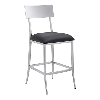 Zuo Modern Mach Counter Chair Black (WC100354)