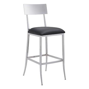 Zuo Modern Mach Bar Chair Black (WC100355)
