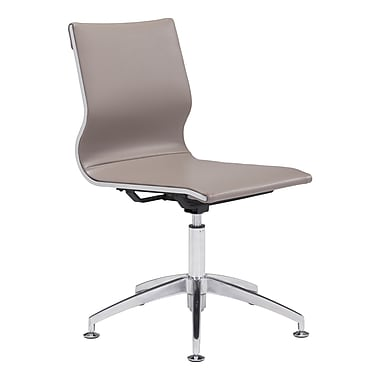 Zuo Modern Glider Conference Chair Taupe (WC100379)