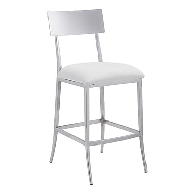 Zuo Modern Mach Counter Chair White (WC100381)