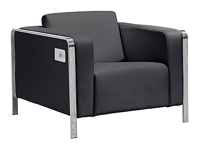 Zuo Modern Thor Arm Chair Black (WC100385)