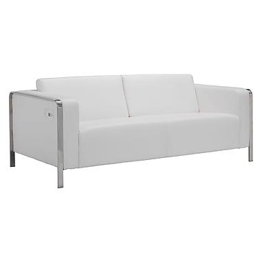 Zuo Modern Thor Sofa White (WC100388)