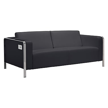 Zuo Modern Thor Sofa Black (WC100389)
