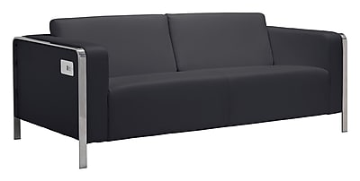 Zuo Modern Thor Sofa Black (WC100389)