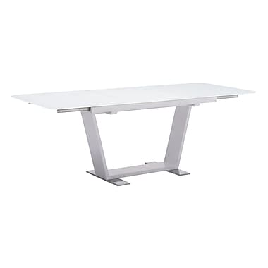 Zuo Modern St Charles Extension Table White (WC102130)
