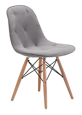 Zuo Modern Probability Dining Chair Gray (WC104155)