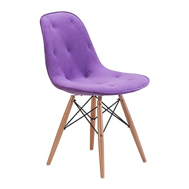 Zuo Modern Probability Dining Chair Purple (WC104157)