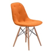 Zuo Modern Probability Dining Chair Orange (WC104158)