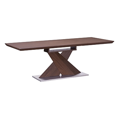 Zuo Modern Jaques Extension Table Walnut (WC107859)