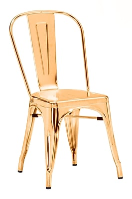 Zuo Modern Elio Dining Chair Gold (Set of 2) (WC108060)