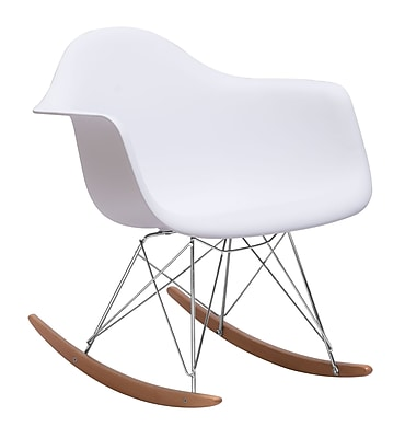 Zuo Modern Rocket Chair White (WC110020)
