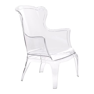 Zuo Modern – Chaise Vision, transparent (WC110030)