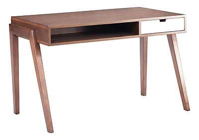 Zuo Modern Linea Desk Walnut (WC199054)