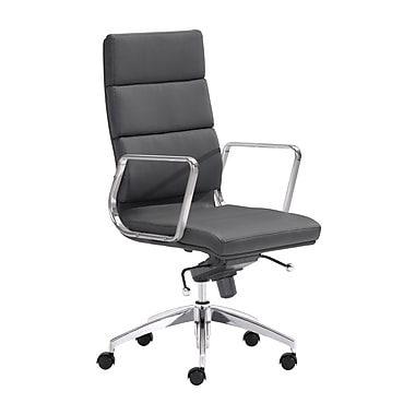 Zuo Modern Engineer High Back Office Chair Black (WC205892)