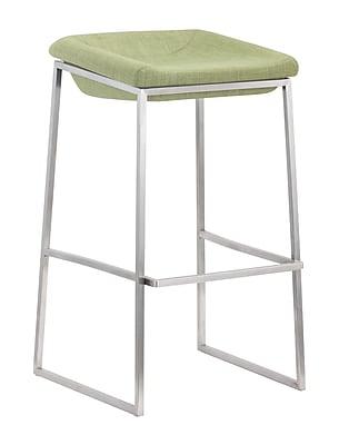 Zuo Modern Lids Barstool Green (Set of 2) (WC300032)