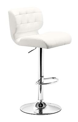 Zuo Modern Formula Bar Chair White (WC300217)