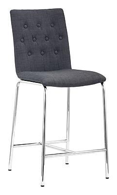Zuo Modern Uppsala Counter Chair Graphite (Set of 2) (WC300338)