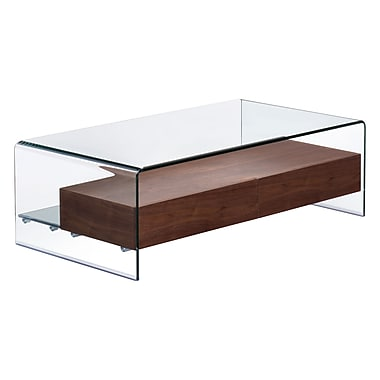 Zuo Modern Shaman Coffee Table Walnut (WC404066)