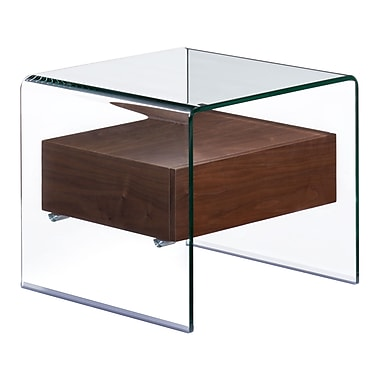 Zuo Modern Shaman Side Table Walnut (WC404068)
