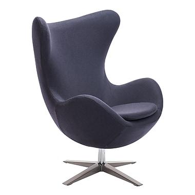 Zuo Modern Skien Arm Chair Iron Gray (WC500301)