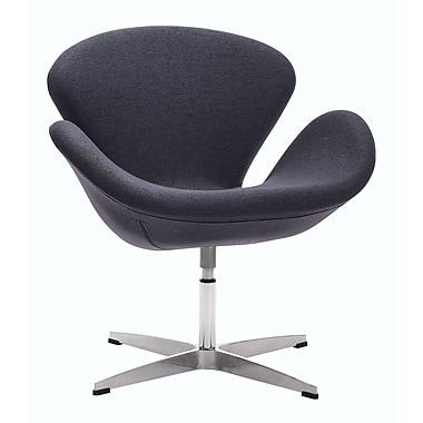 Zuo Modern Pori Arm Chair Iron Gray (WC500310)