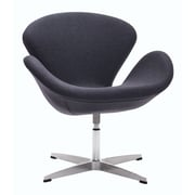 Zuo Modern Pori Arm Chair Iron Gray (WC500310)