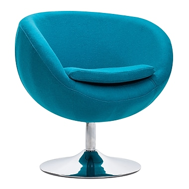 Zuo Modern Lund Arm Chair Island Blue (WC500322)