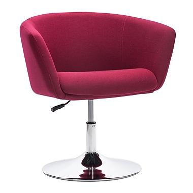 Zuo Modern – Fauteuil Umea, rouge cornaline (WC500340)