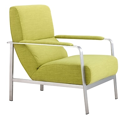 Zuo Modern Jonkoping Arm Chair Lime (WC500346)