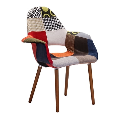 Zuo Modern – Fauteuil d'appoint Moshe, multicolore, 2/paquet (WC500349)