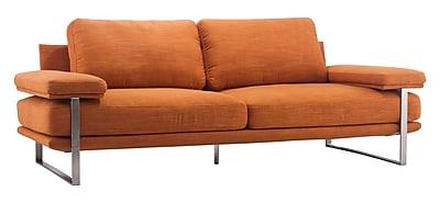 Zuo Modern Jonkoping Sofa Sunkist Orange (WC900625)