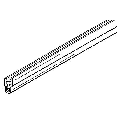 FFR Merchandising ? Système RAZZ à glissière SuperGrip, 24 po de longueur, 10/paquet (2007818551)