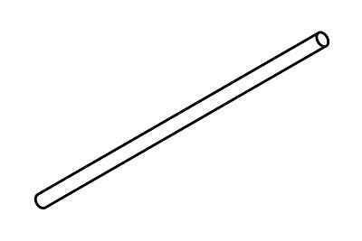 FFR Merchandising Flute Wire, B Flute, 6 inch L, 75/Pack, (8111692751)