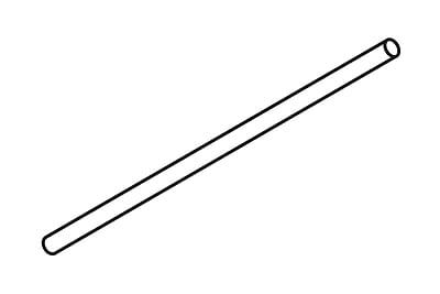 FFR Merchandising Flute Wire, B Flute, 24 inch L, 50/Pack, (8111692752)
