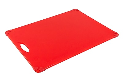FFR Merchandising Grippy Cutting Board, 15 inch x 20 inch , Red, (9922911595)