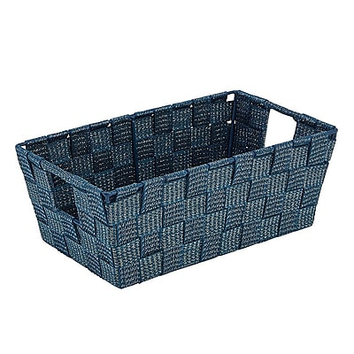 Simplify Small Woven Strap Shelf Tote, Navy (26244-Navy)