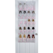 Laura Ashley 20 Pocket Shoe Organizer, Beatrice (LA-95626)