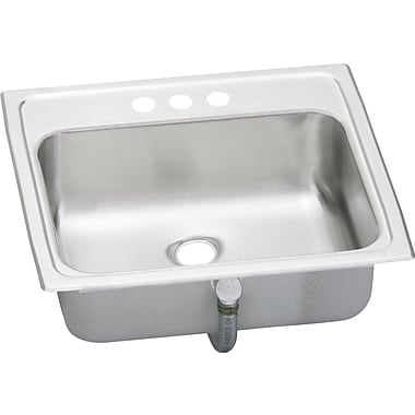 Elkay Asana 19'' x 17'' Pacemaker Kitchen Sink; CS3
