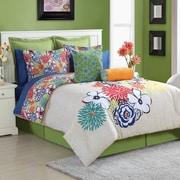 Fiesta Lucia Comforter Set; Queen