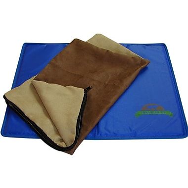 TravelinK9 Gel Cooling Utility Mat; 1'4'' x 1'8''