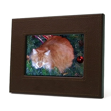 River of Goods A Pet's Life Rectangle Picture Frame; Brown