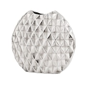 Modern Day Accents Diamante Harlequin Vase; 13'' H x 14'' W