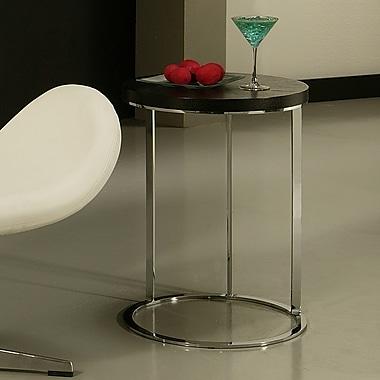 Impacterra Metro End Table; Black