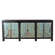 TaranDesigns Auro Sideboard; Antique Blue