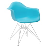 Edgemod Padget Arm Chair; Aqua