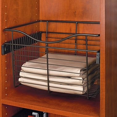 Rev-A-Shelf Pull-Out 24''W x 7''H Drawer; Oil Rubbed