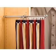 Rev-A-Shelf 2.8'' W Pull-Out Tie Rack; Chrome