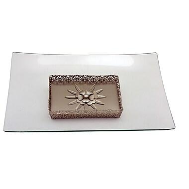 Three Star Rectangle Base Serving Platter