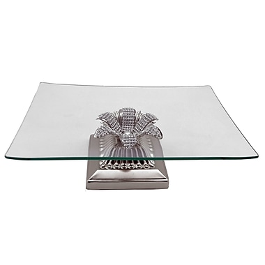 Three Star Square Base Serving Platter